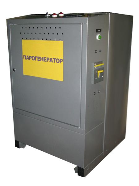 Парогенератор электрический ТЭНовый предназначен для выработки насыщенного водяного пара температурой 130 - 160 гр. С...